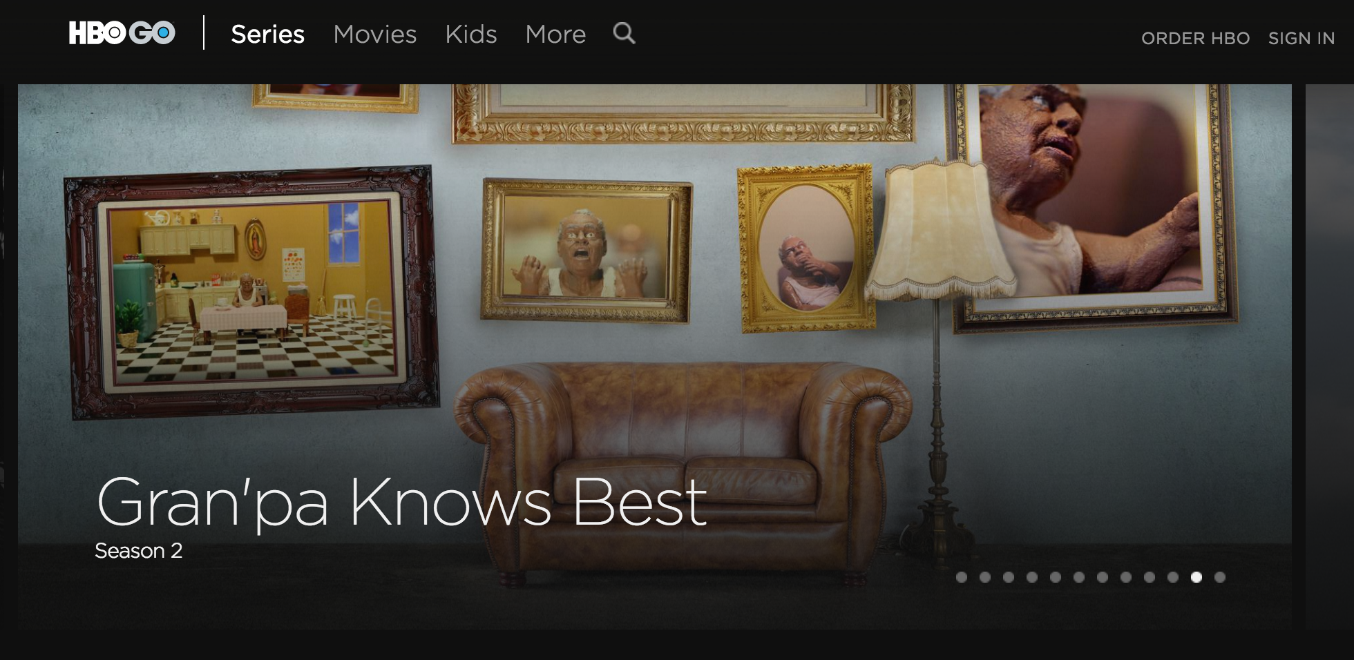 JUNE 2016:  Season 2 of Gran'pa Knows Best debuted on HBO, HBO GO, and HBO NOW on June 17th, 2016.     Gran'pa Knows Best i s a hilarious interactive interstitial series where my Puerto Rican Grandfather answers YOUR questions!The project was picked up by HBO LATINO within weeks of its online web-series premiere in January,2015. The project also made history with HBO, becoming the first contracted interstitial series ever licensed by the company.