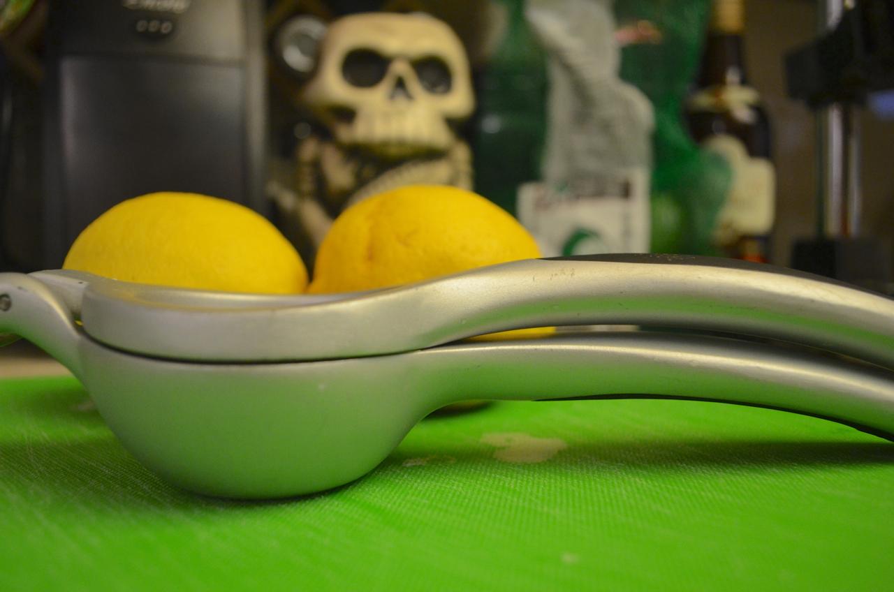 OXO citrus squeezer