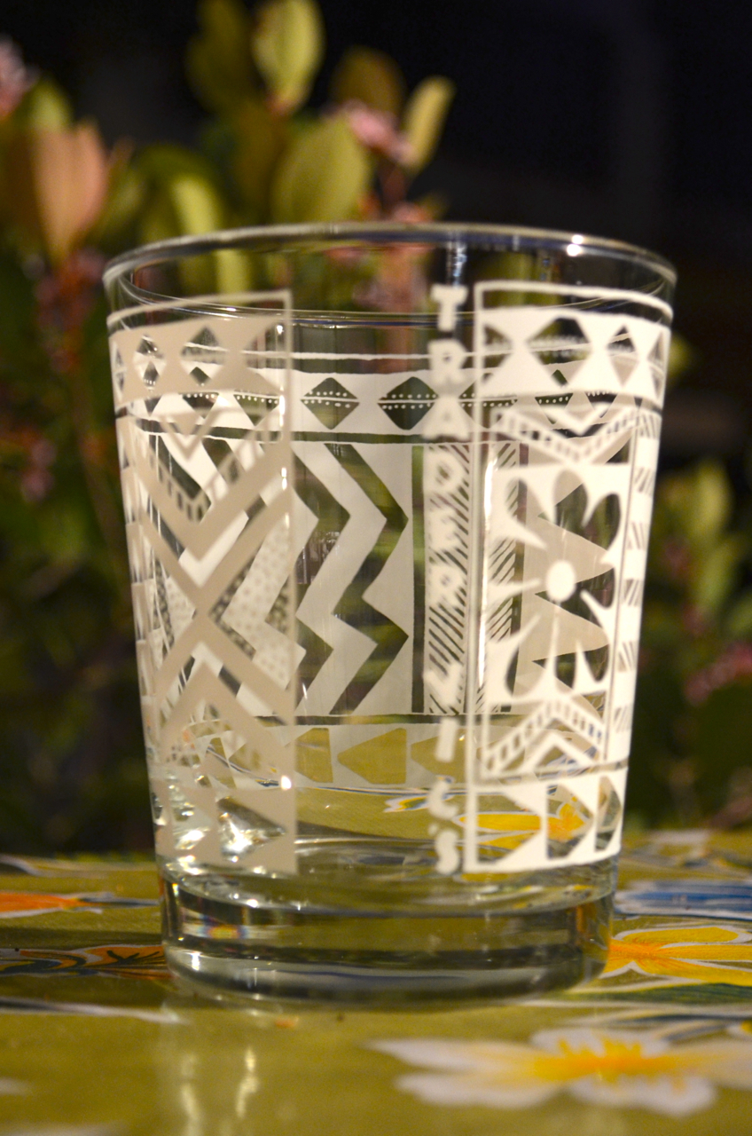Double old-fashioned glass (Trader Vic's)
