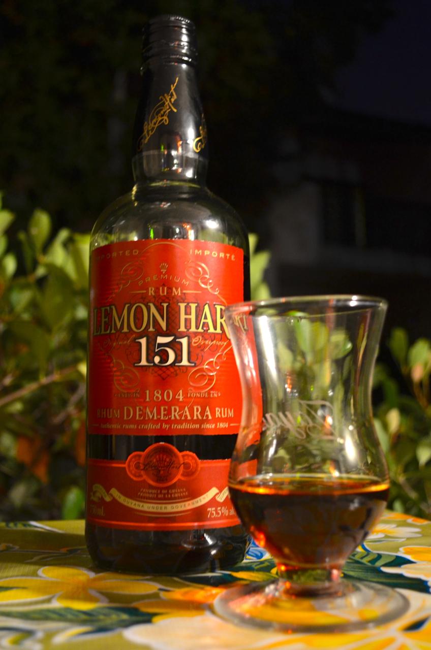 New label Lemon Hart 151.