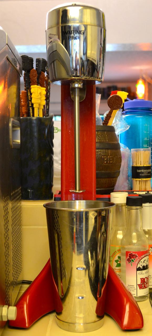 Bar blender / milkshake mixer.