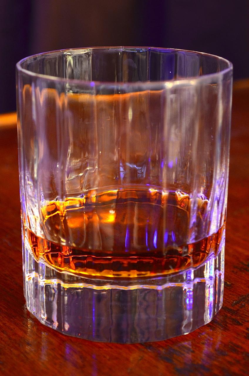 El Dorado 21 in the glass.