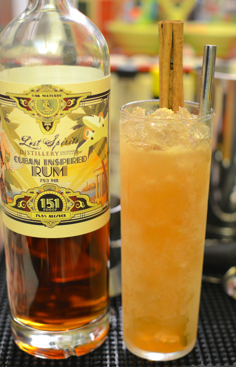 Tribute to The Mai-Kai's 151 Swizzle, v.1, similar in profile to the Tiki-Ti's 151 Swizzle.