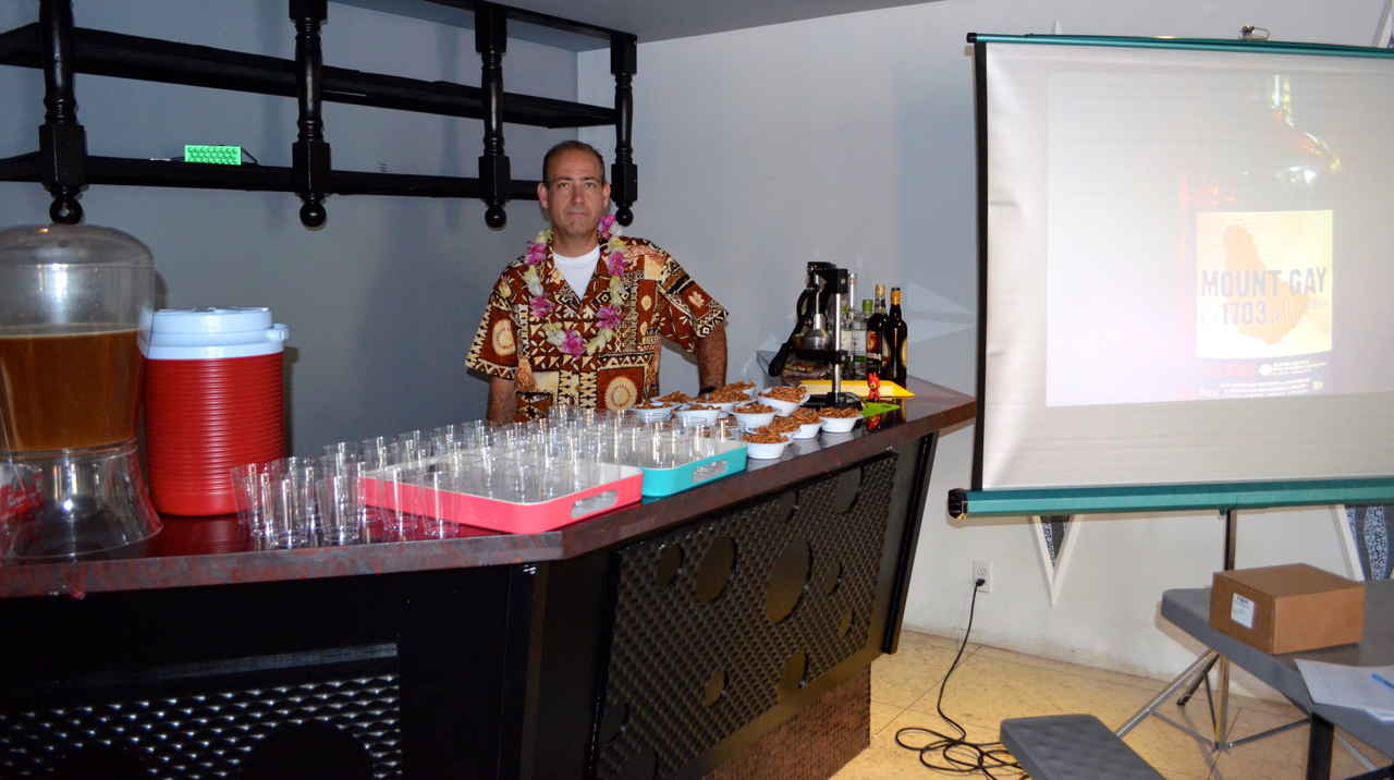 Your host for  the Rum 103 symposium at TIki Caliente 7