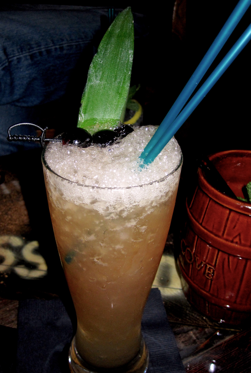 3 Dots and a Dash, as served at Smuggler's Cove.