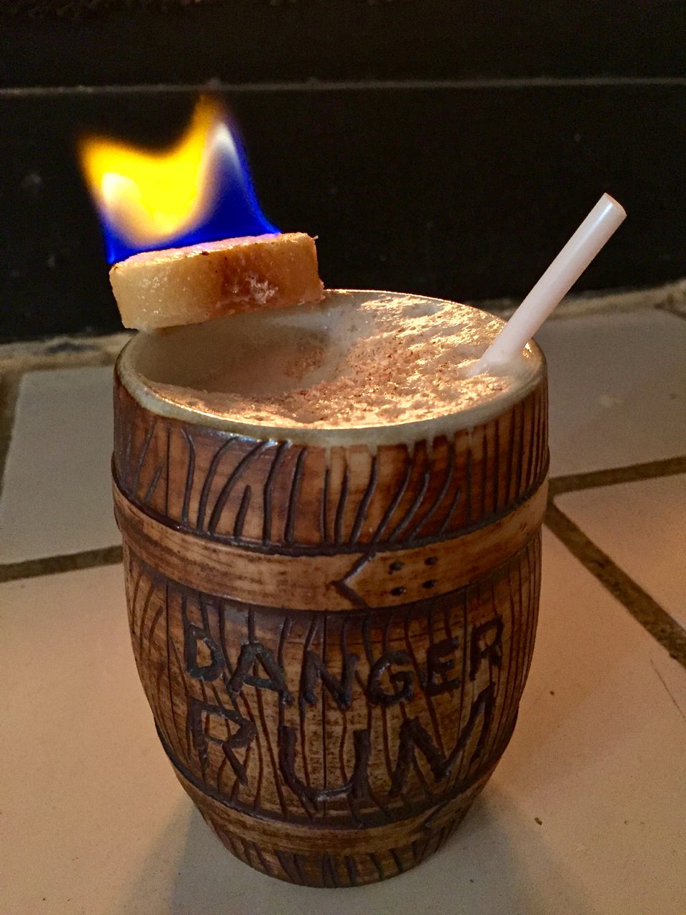 Voodoo Grog (Trader Vic's recipe as published in Potions of the Caribbean)