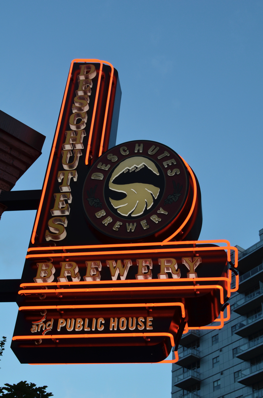 Deschutes Public House in Portland, OR.
