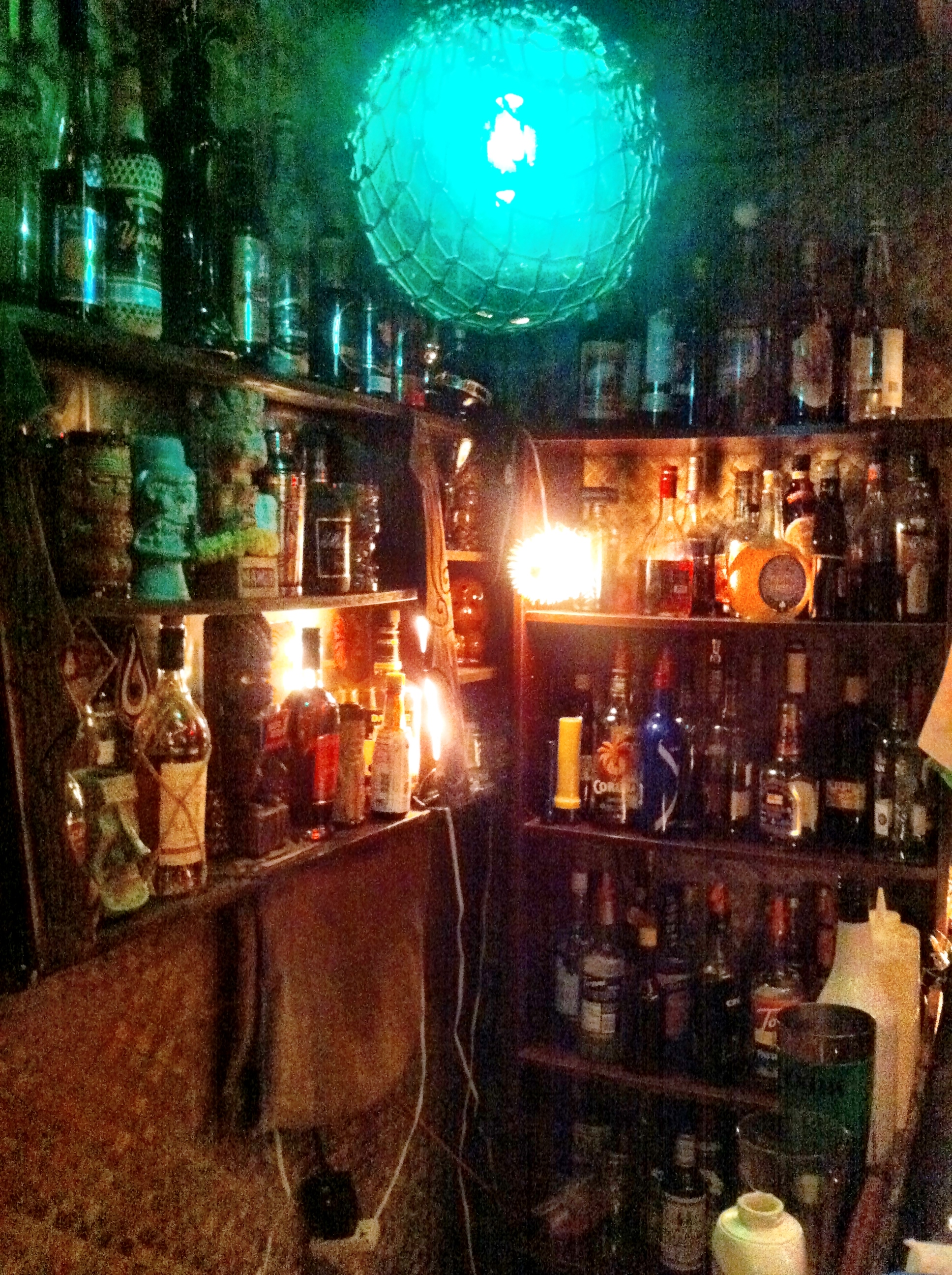 The bar area at the Rumpus Room.