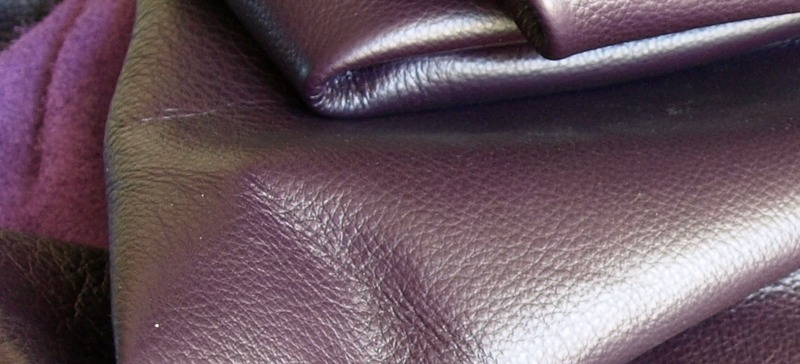 Dark Purple Leather L30