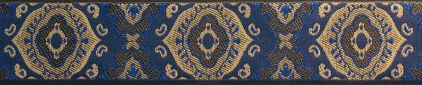 R202 1 Inch Blue Gods Eye