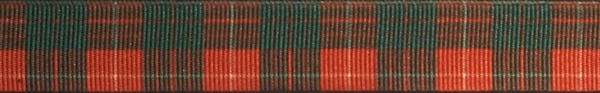 R91-CG 3/4 Inch Red and Green Plaid