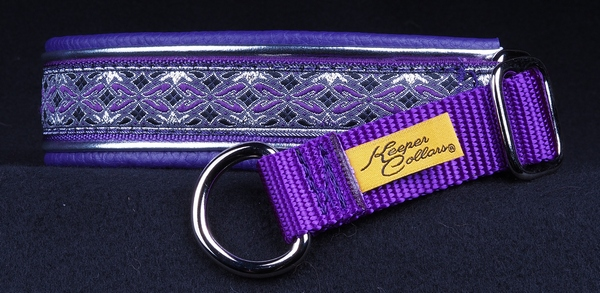 1 In Silver and Purple Diamonds on Purple with Metallic Silver and Purple Leather Chrome.jpg