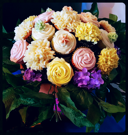Dear Faye! Your bouquet is so realistic and gorgeous! I just love it! You are an inspiration to us all to try to create beautiful cupcake bouquets!