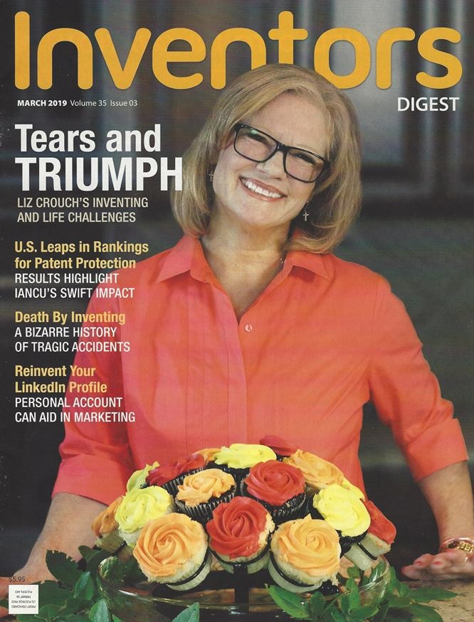 INVENTORS DIGEST - Check this out, we made the cover of INVENTORS DIGEST, March 2019 issue. A bit of our story is featured on the inside. So, so honored!