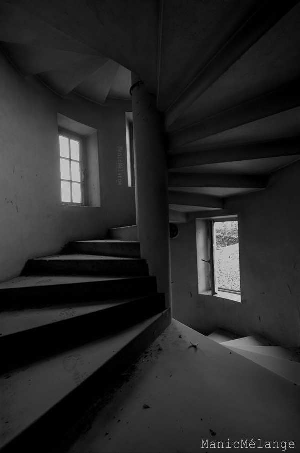 Spiral Dream // Abandoned St Anna Monastery; Holland