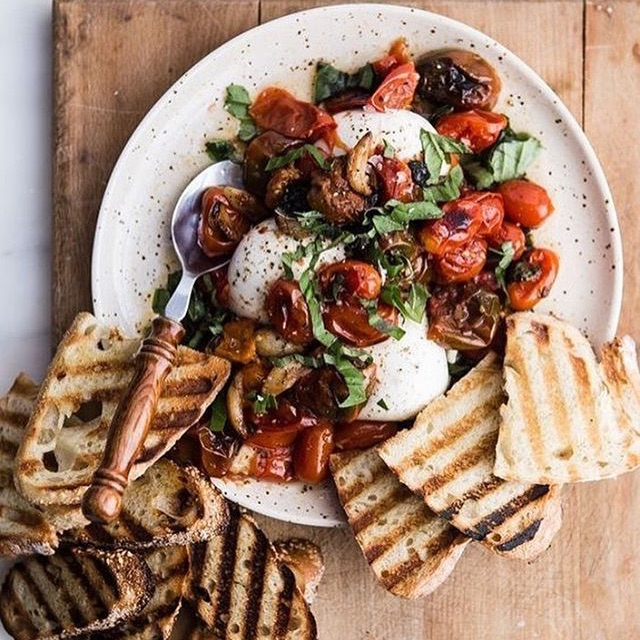 Tomatoes & Burrata
