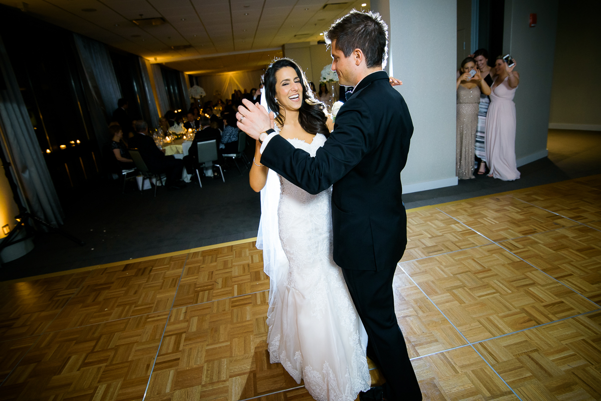 First dance at a Thompson Chicago wedding.