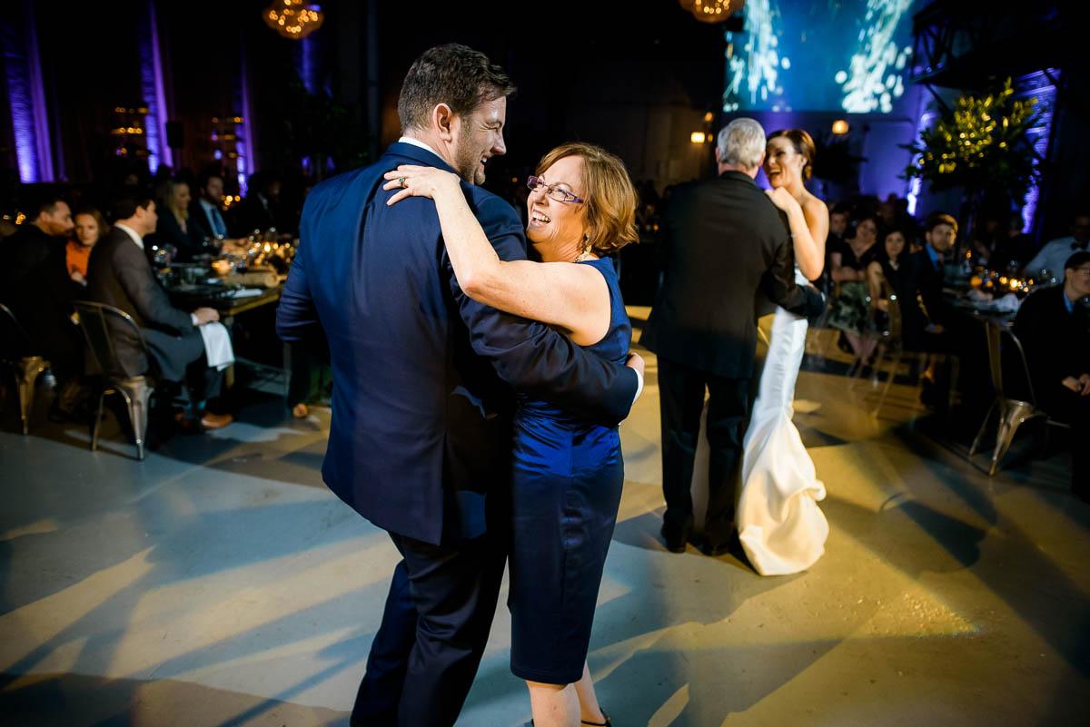 Parent dance during a Moonlight Studios Chicago wedding.