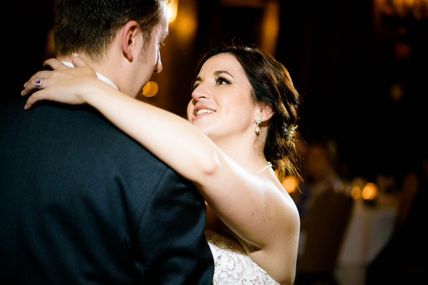 First dance during a University Club of Chicago wedding.
