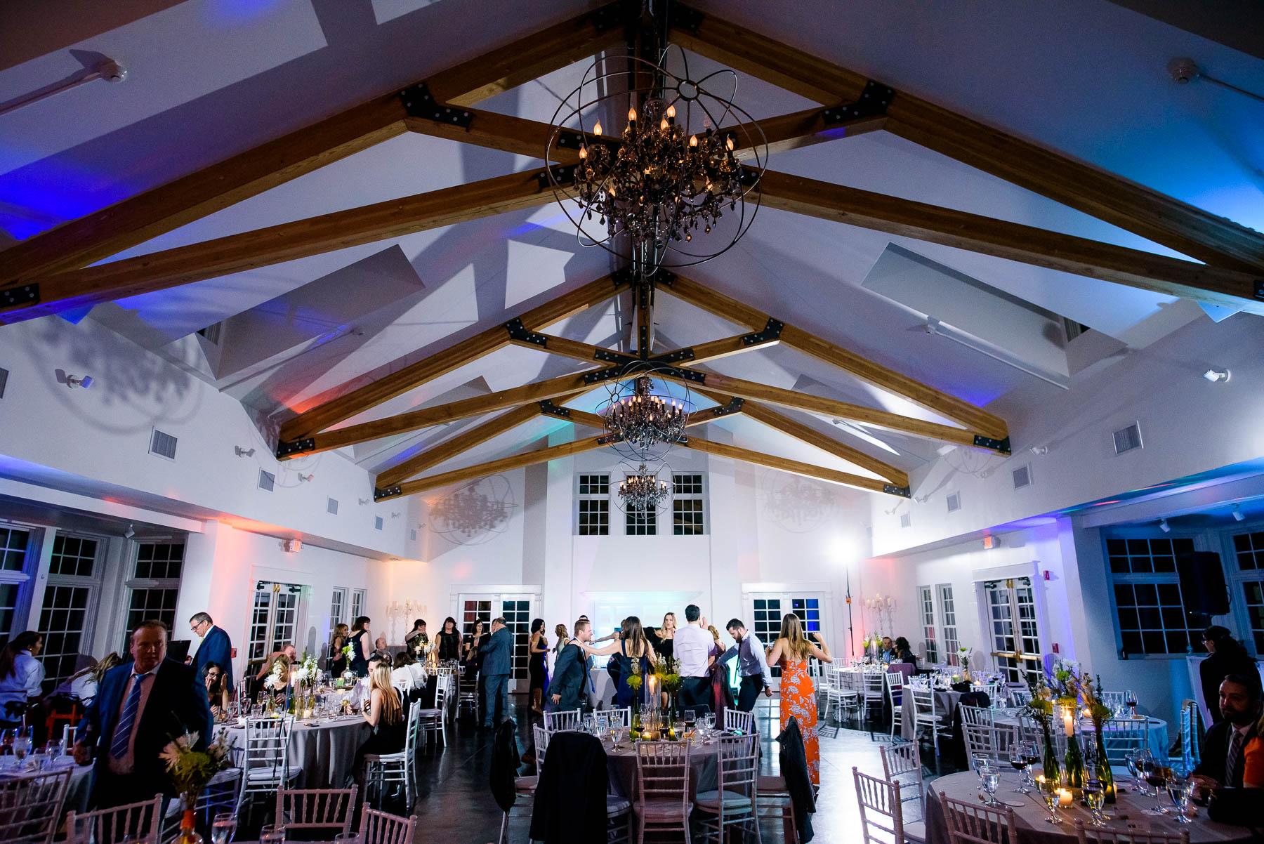 Manor House wedding reception in Littleton, Colorado.