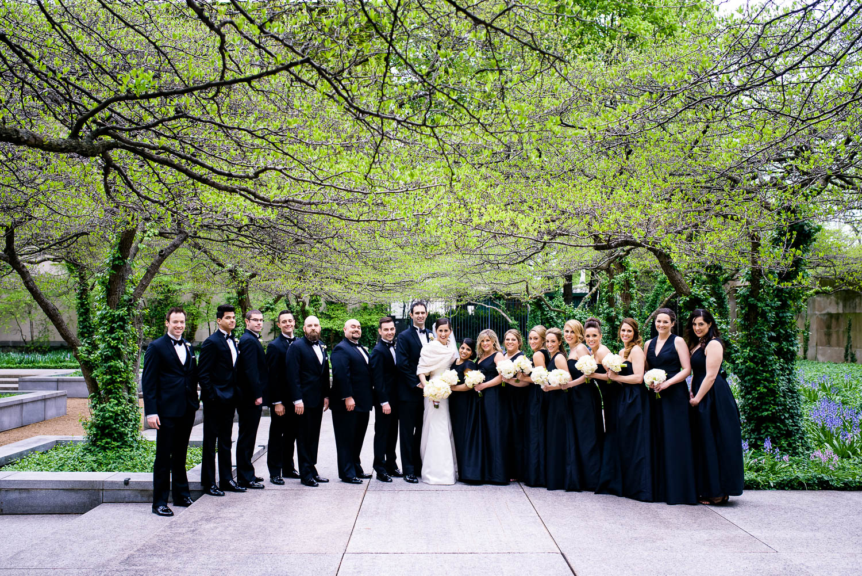 Art Institute of Chicago wedding.