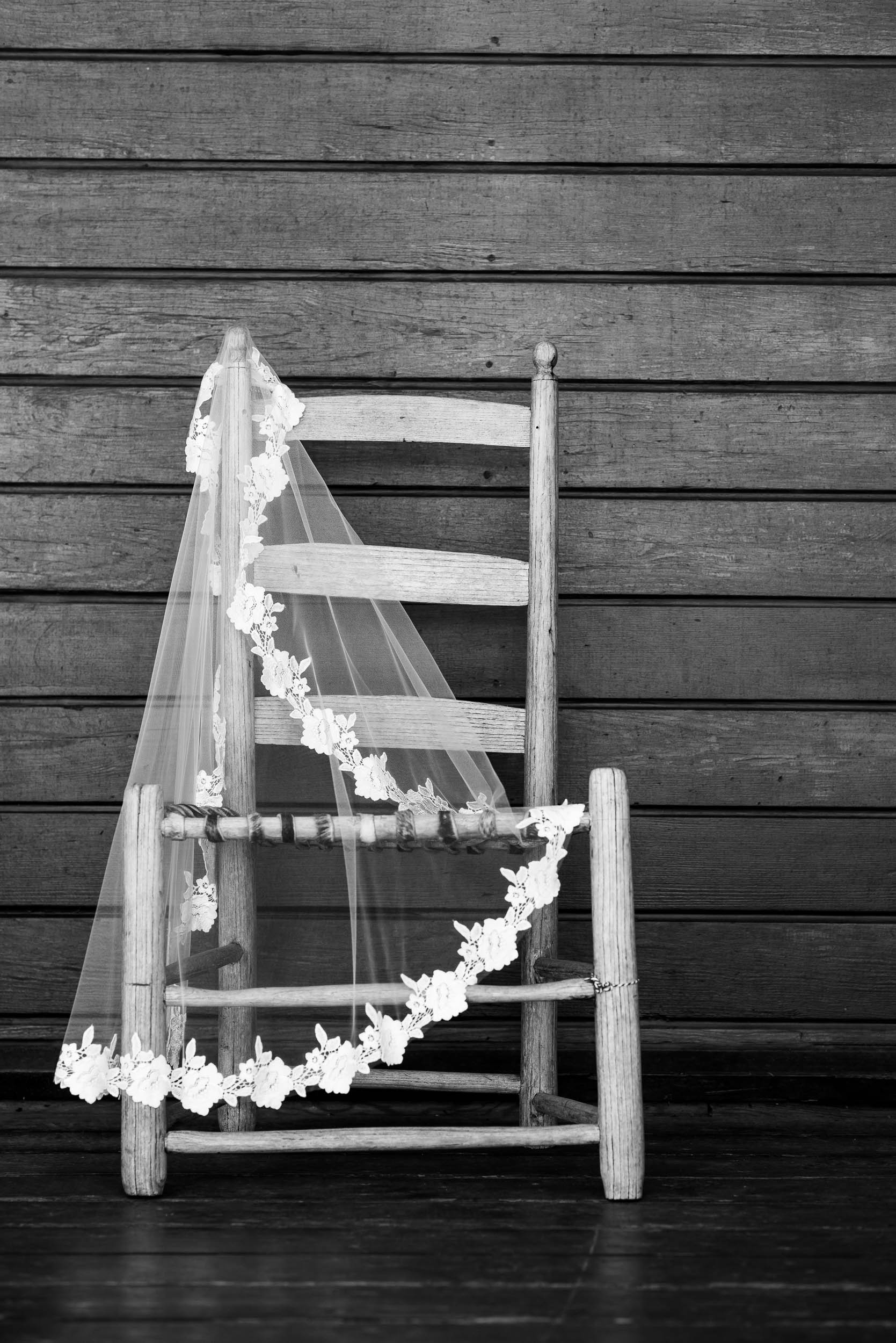 Veil detail photo during a Montesino Ranch wedding Austin, Texas.