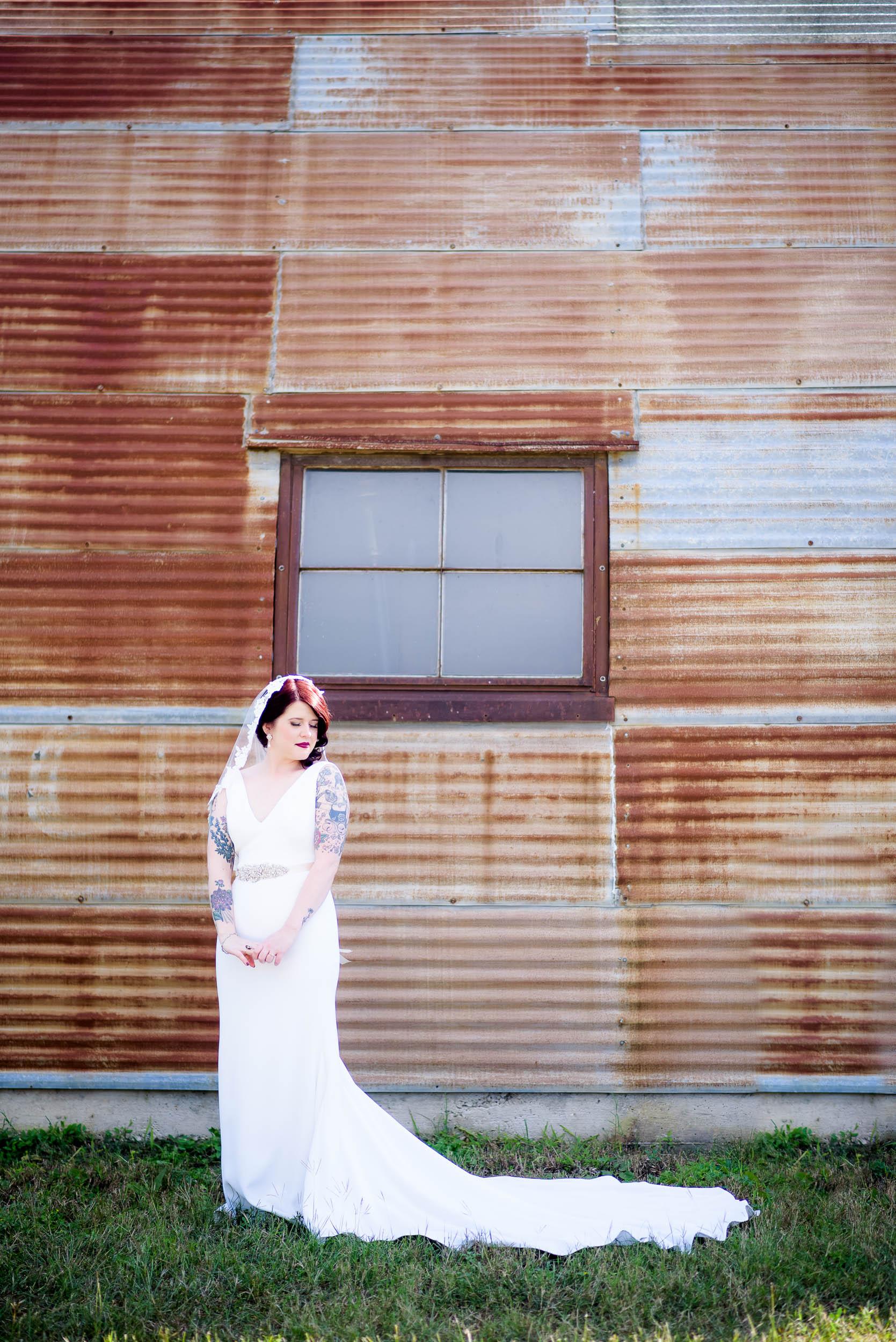 Bridal portrait during a Montesino Ranch wedding Austin, Texas.