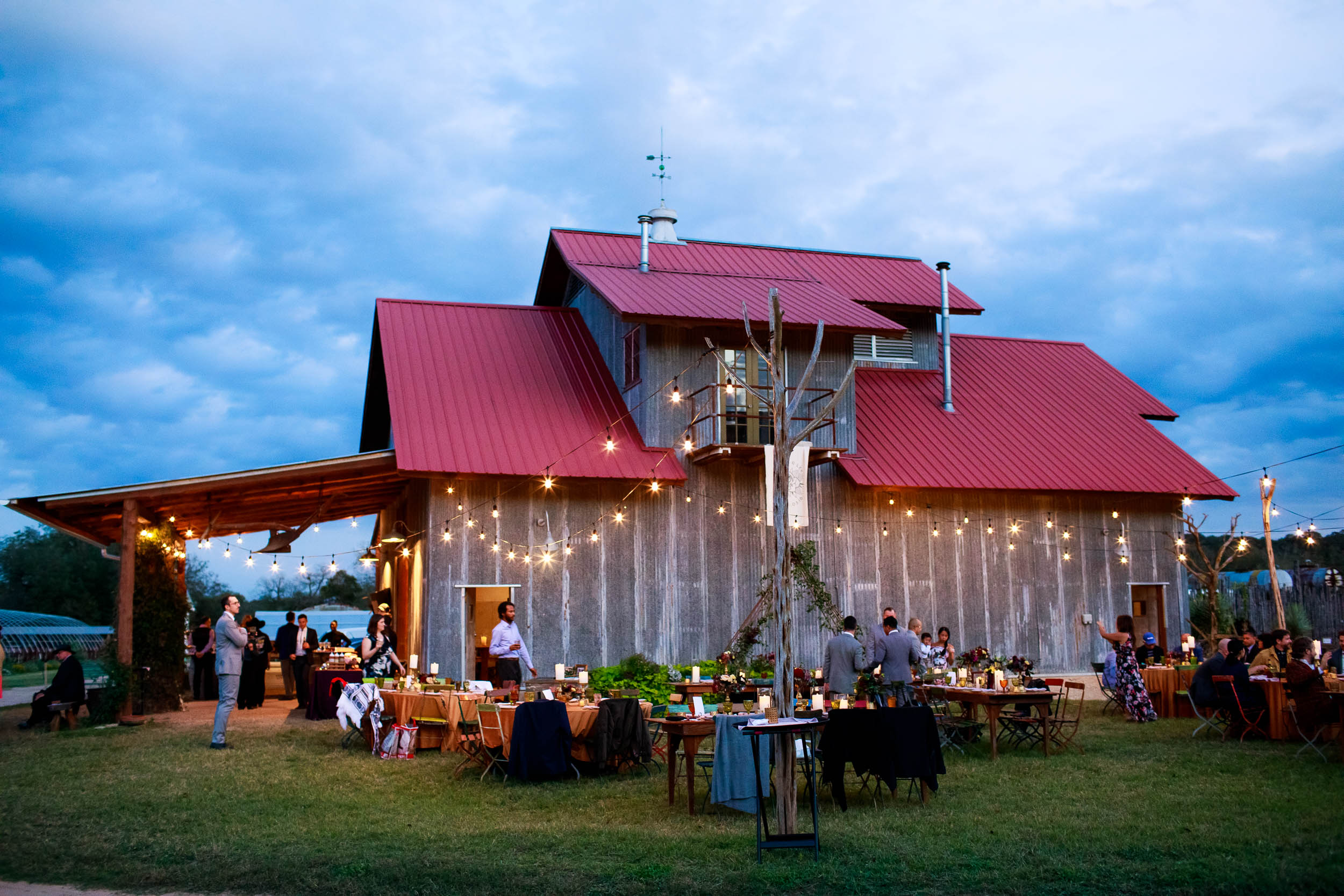 Montesino Ranch wedding reception Austin, Texas.