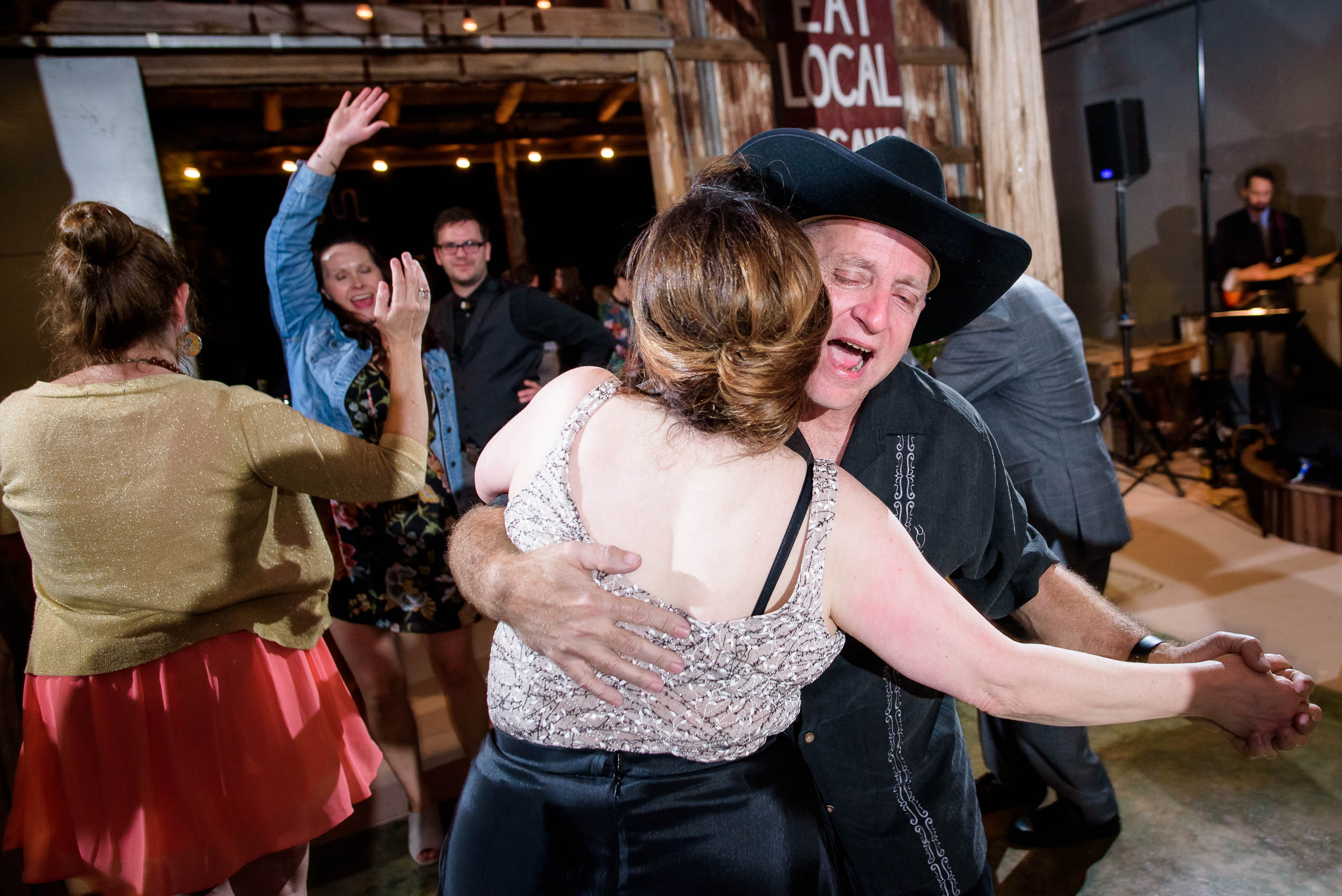Funny wedding moments during a Montesino Ranch wedding Austin, Texas.