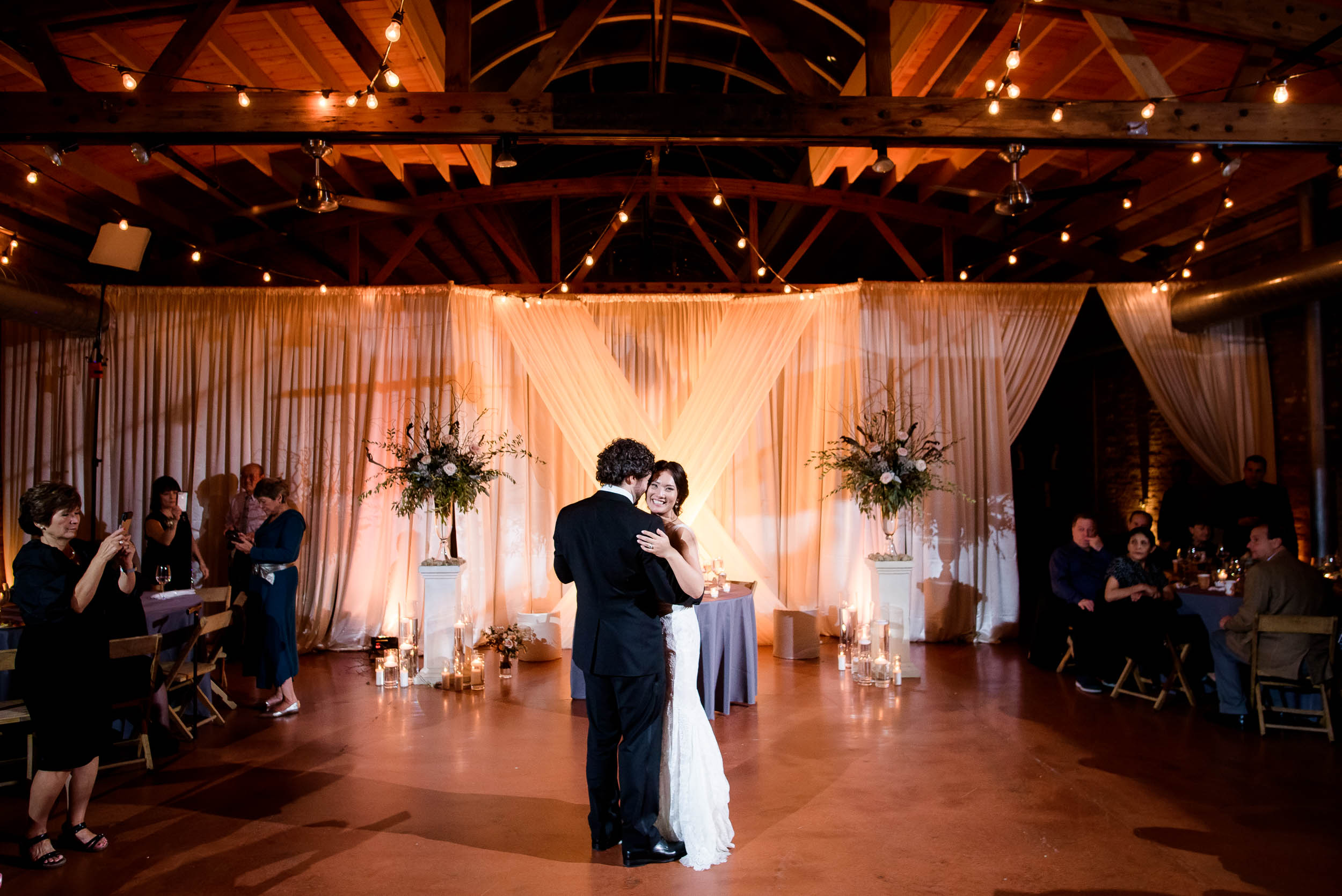 First dance during a Loft on Lake Chicago wedding.