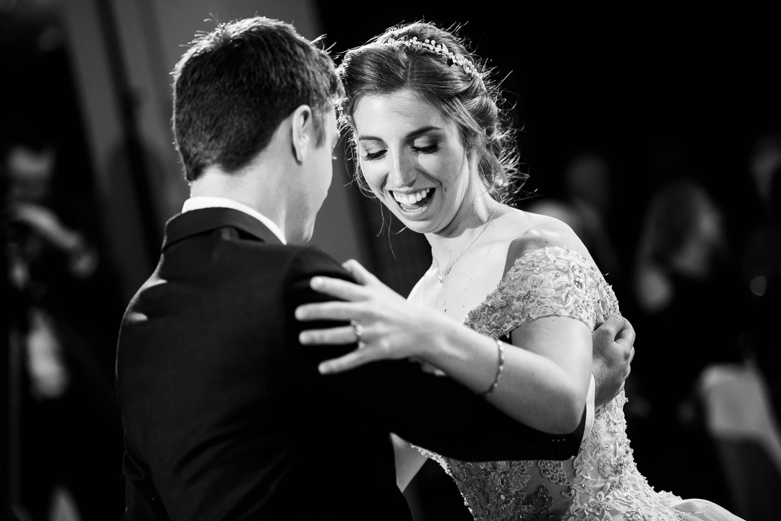 First dance during a Newberry Library Chicago wedding.