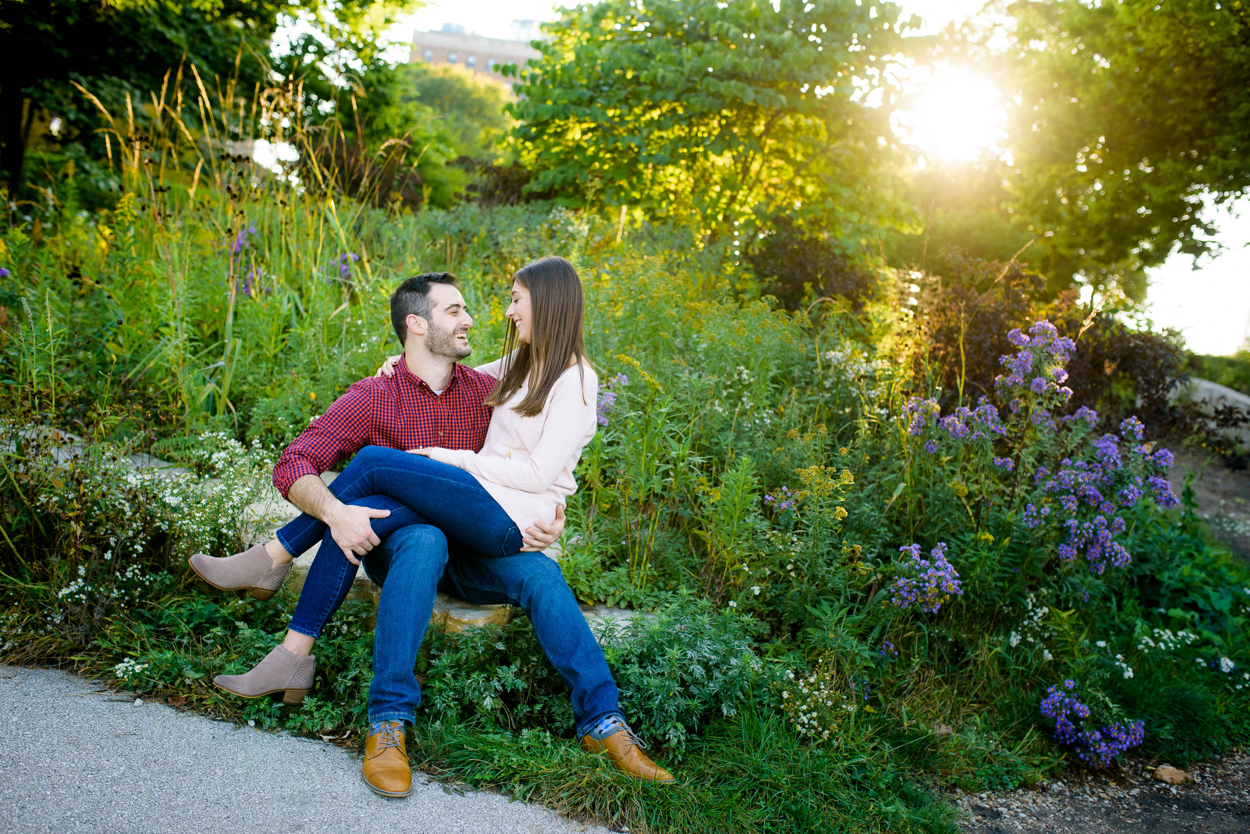Copy of Lincoln Park Chicago engagement session captured by J. Brown Photography. See more engagement photo ideas at jbrownphotography.com!