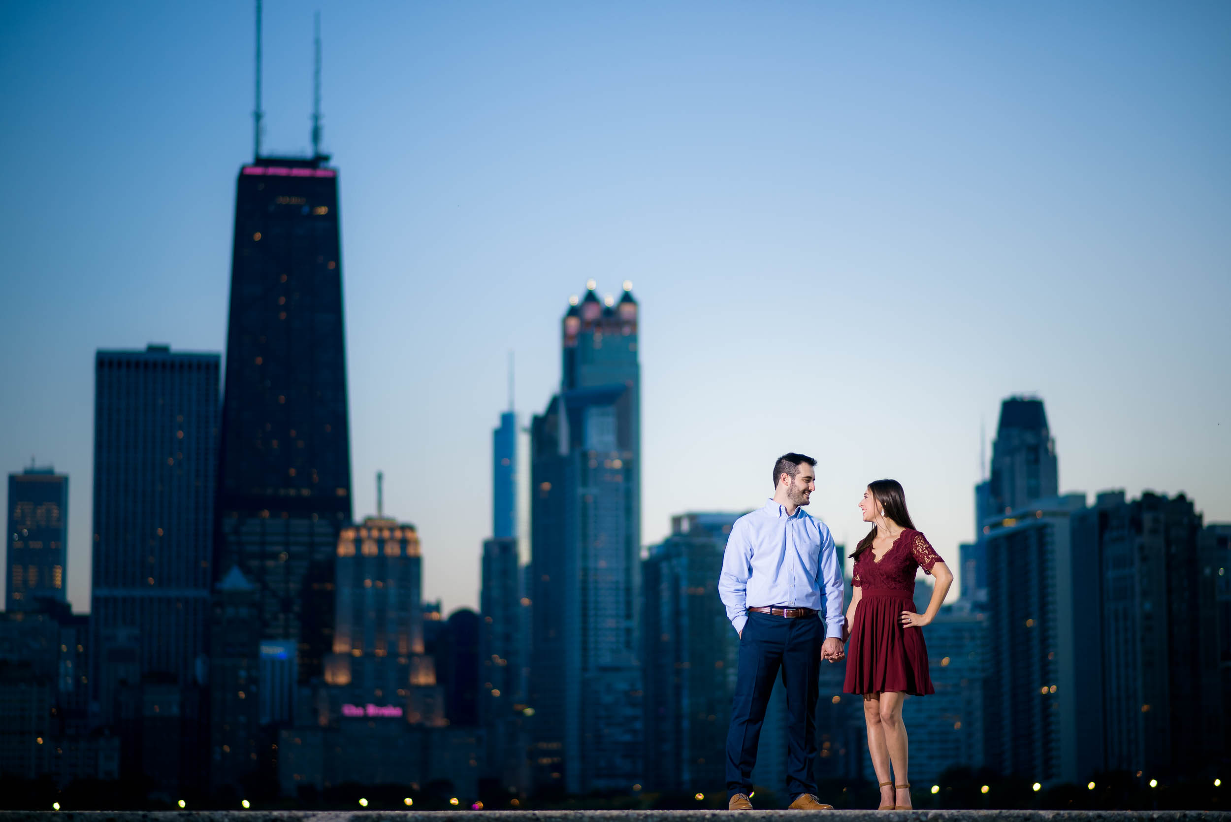 Lincoln Park Chicago engagement session captured by J. Brown Photography. See more engagement photo ideas at jbrownphotography.com!