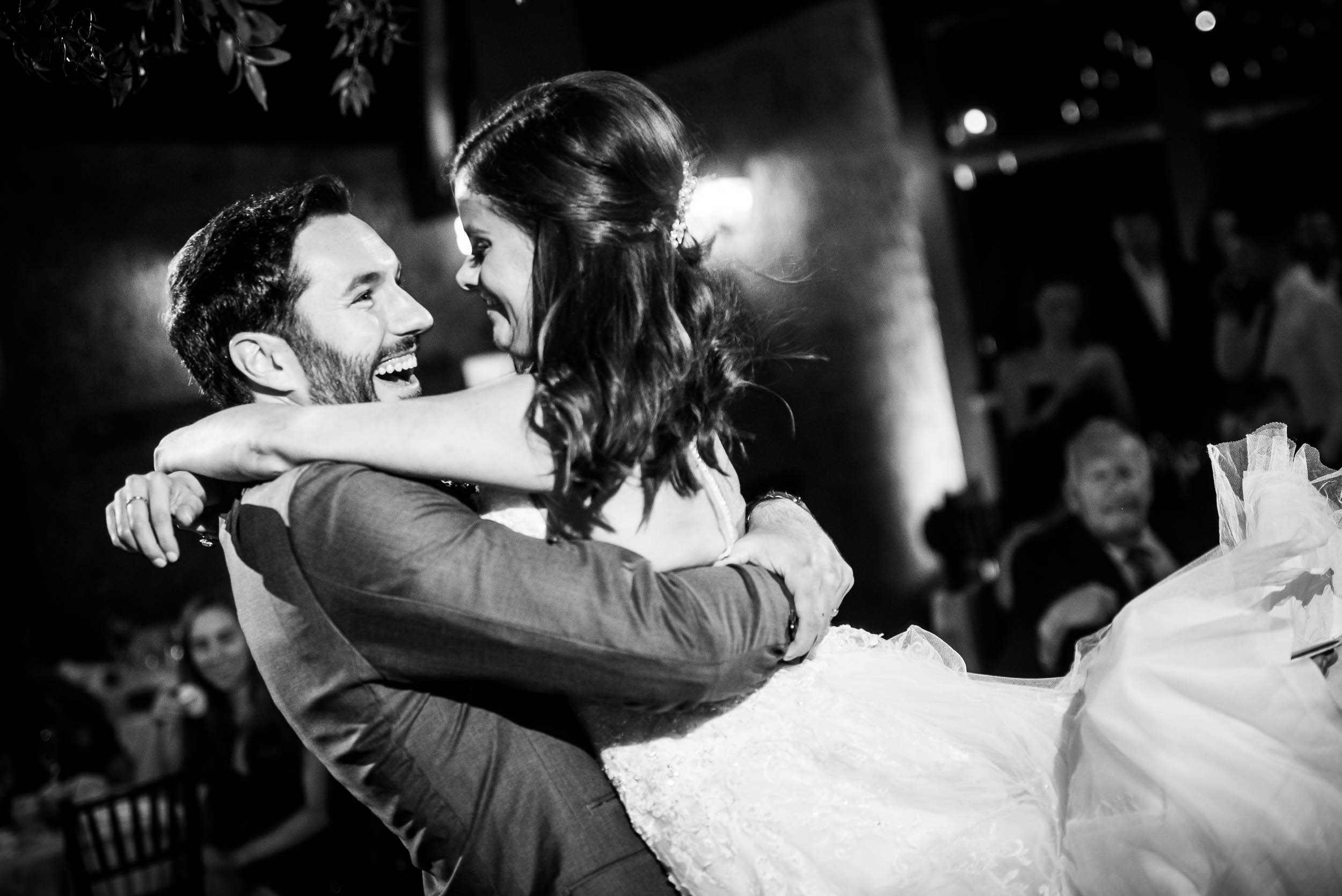 Bride and groom's first dance at Grand Geneve Resort Fall Chicago Wedding captured by J. Brown Photography. Visit jbrownphotography.com for more wedding inspiration!