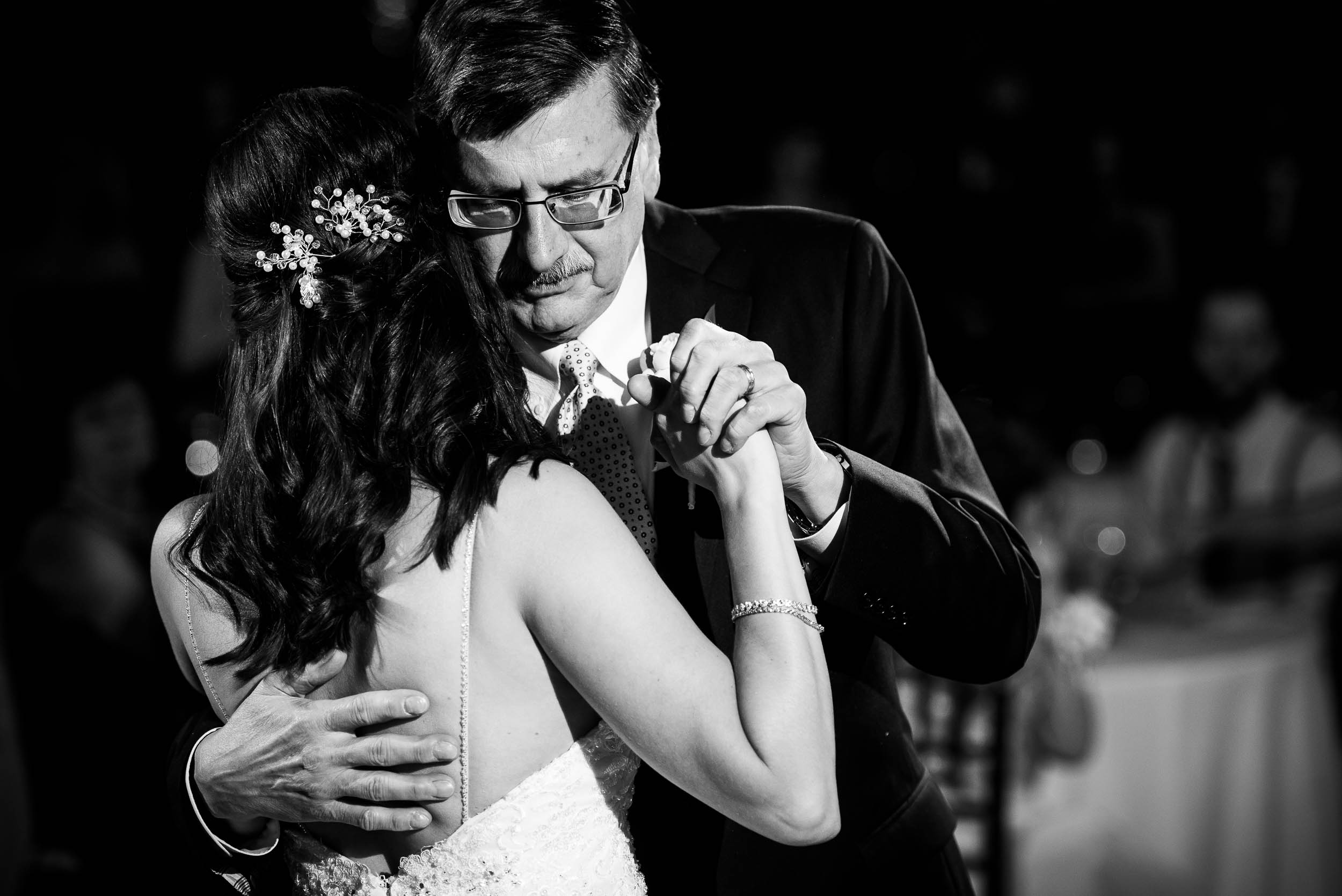 Father/daughter dance at Grand Geneve Resort Fall Chicago Wedding captured by J. Brown Photography. Visit jbrownphotography.com for more wedding inspiration!