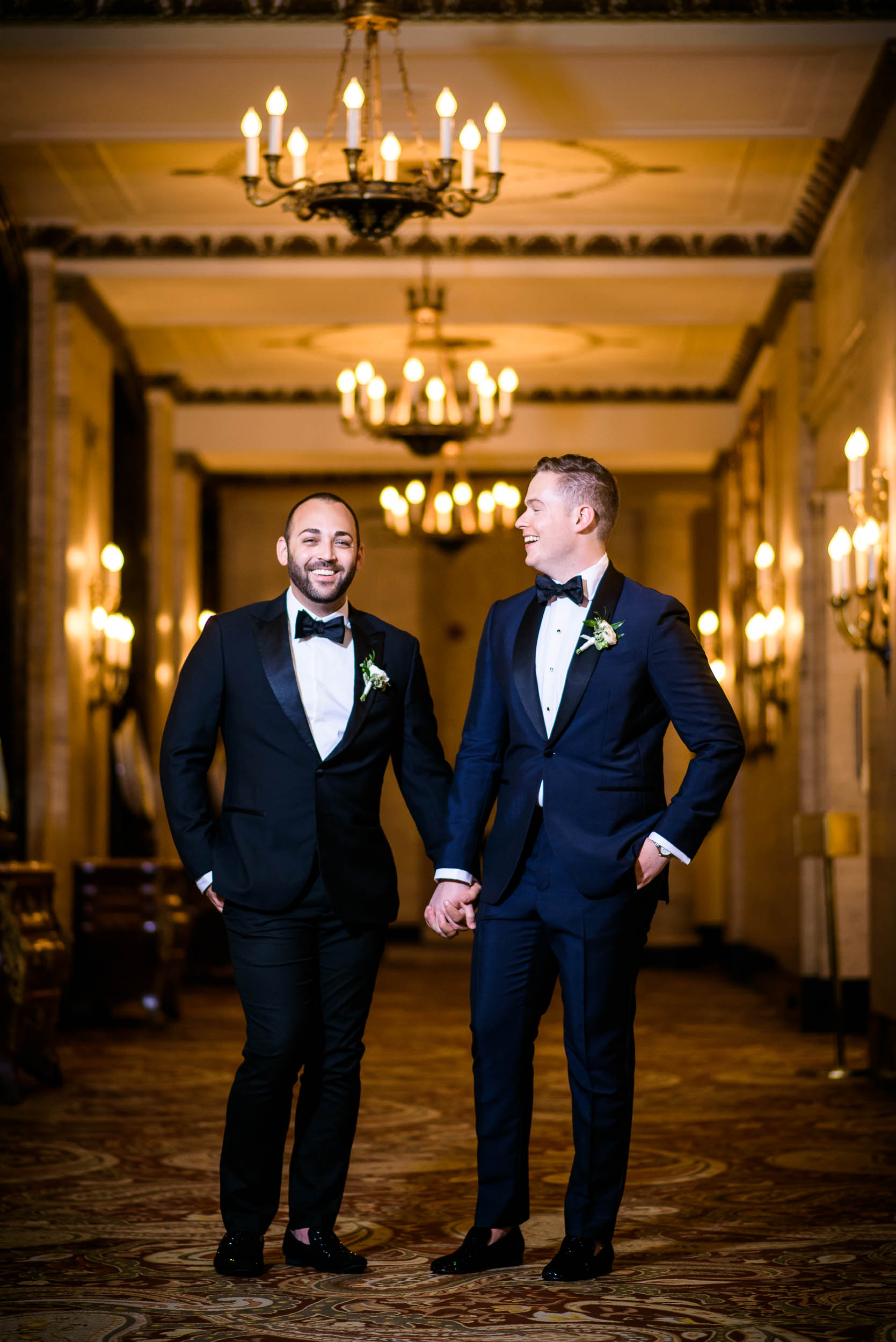 Trendy grooms attire for luxurious fall wedding at the Chicago Symphony Center captured by J. Brown Photography. See more wedding ideas at jbrownphotography.com!