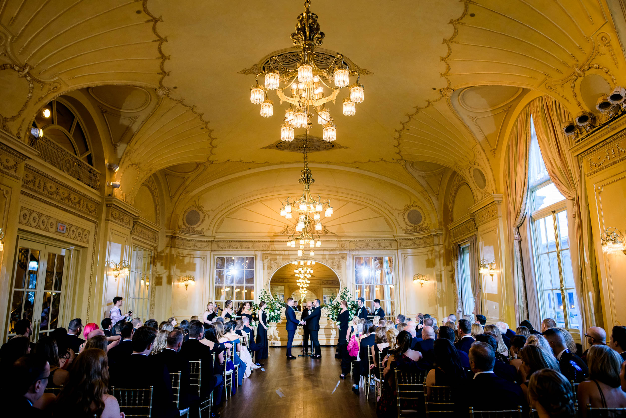 High-end wedding details for luxurious fall wedding at the Chicago Symphony Center captured by J. Brown Photography. See more wedding ideas at jbrownphotography.com!