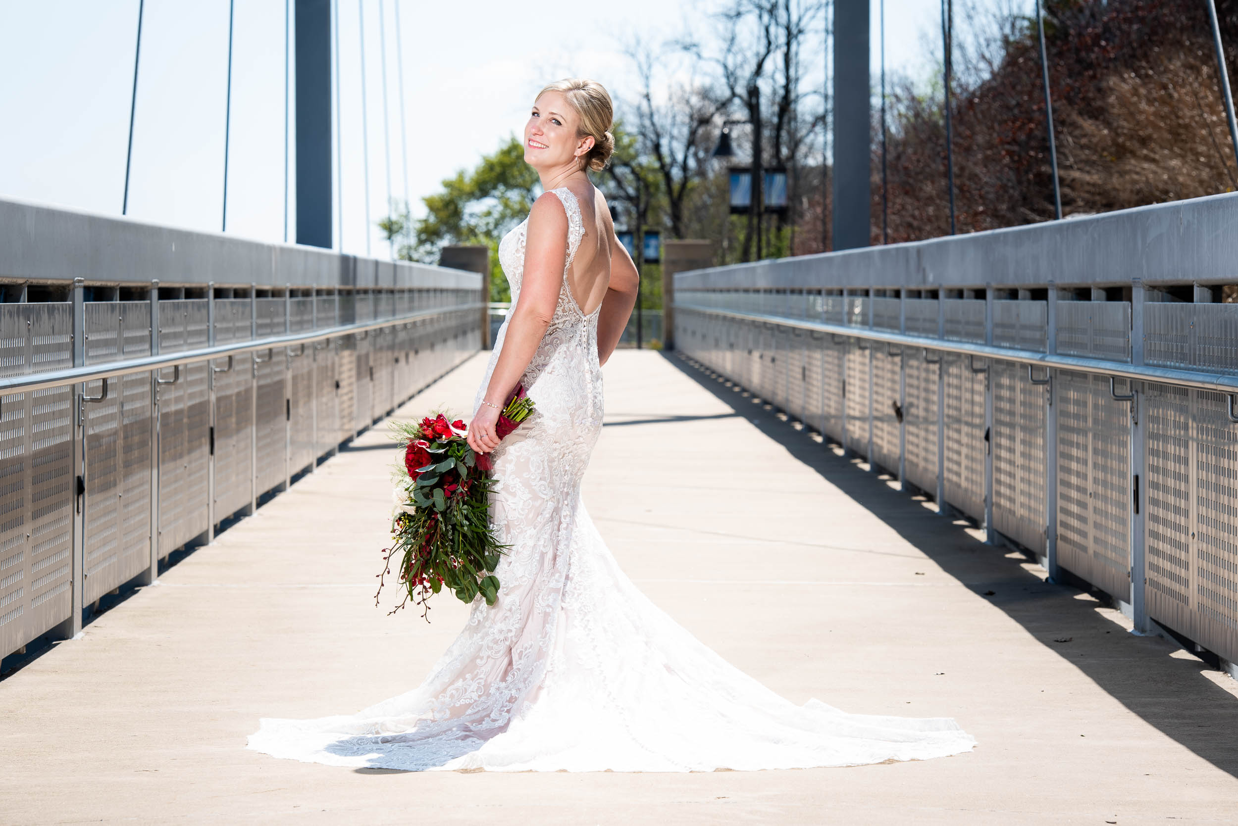 Bridal portrait: Modern industrial Chicago wedding inside Prairie Street Brewhouse captured by J. Brown Photography. Find more wedding ideas at jbrownphotography.com!