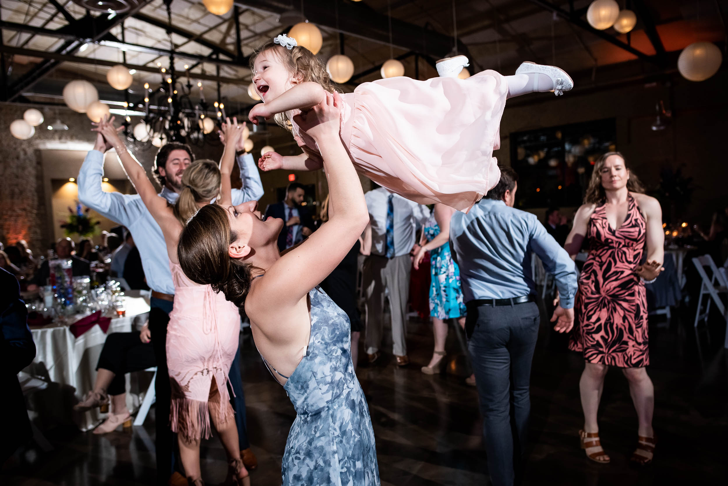 Wedding reception fun: Modern industrial Chicago wedding inside Prairie Street Brewhouse captured by J. Brown Photography. Find more wedding ideas at jbrownphotography.com!