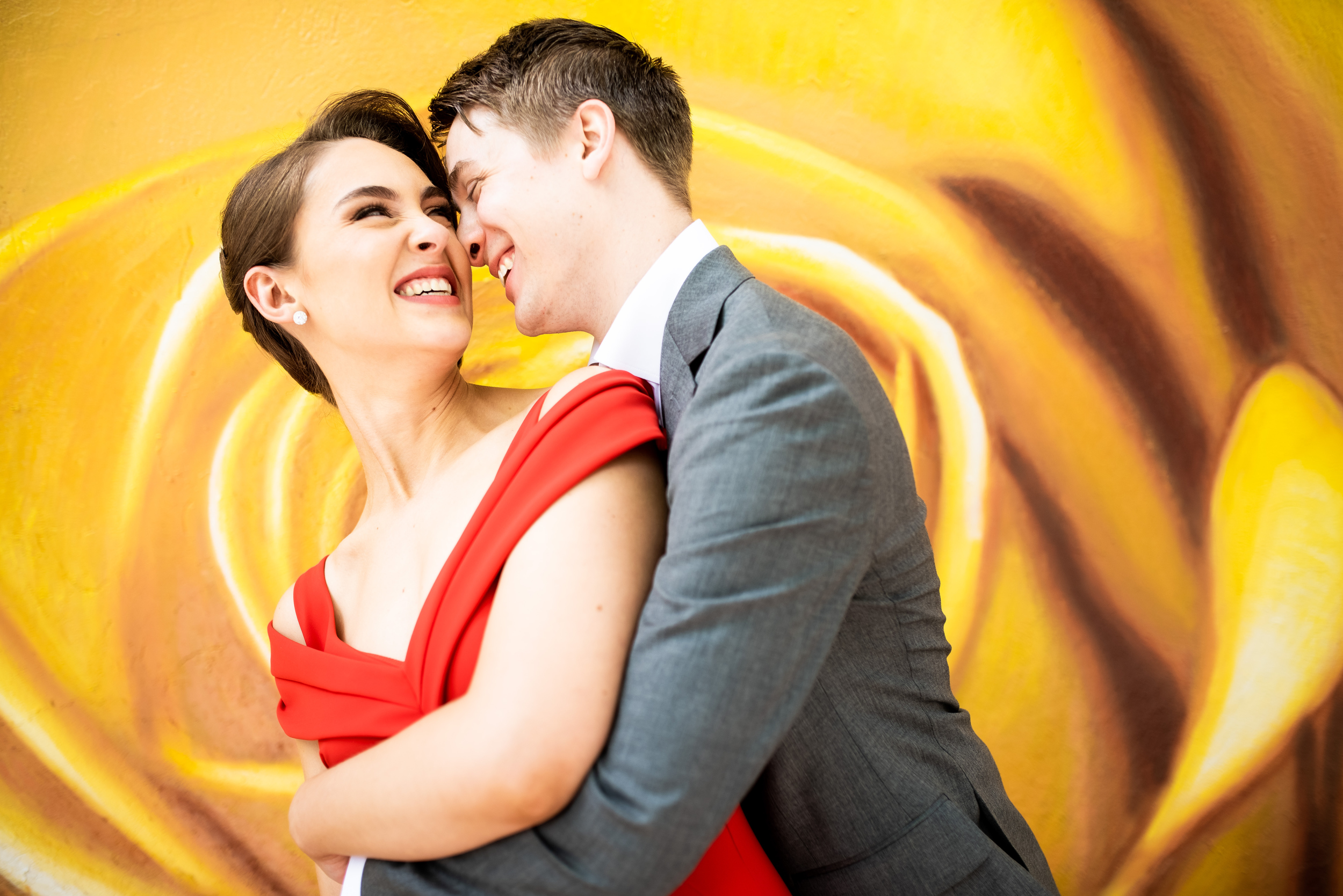 Creative wedding inspiration: Carnivale Chicago wedding captured by J Brown Photography