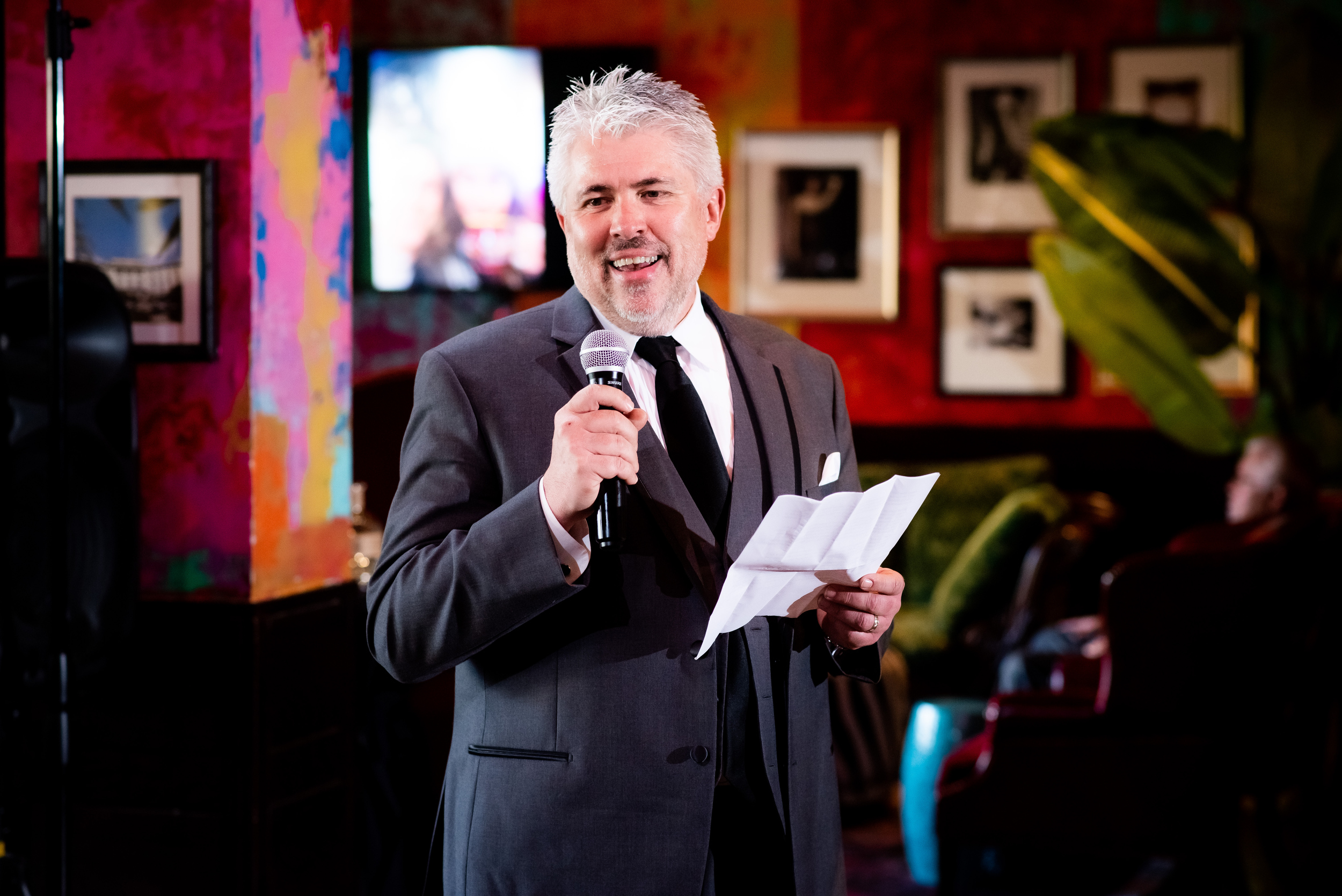 Father of the bride speech: Carnivale Chicago wedding captured by J Brown Photography