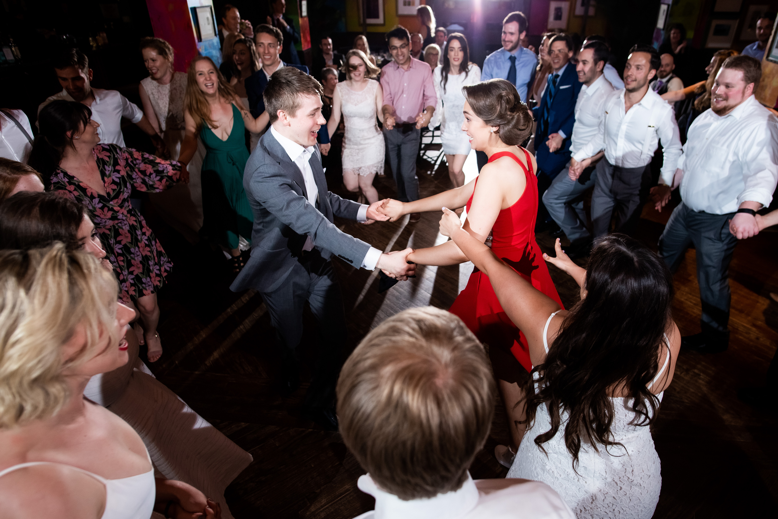 Wedding dance photos: Carnivale Chicago wedding captured by J Brown Photography
