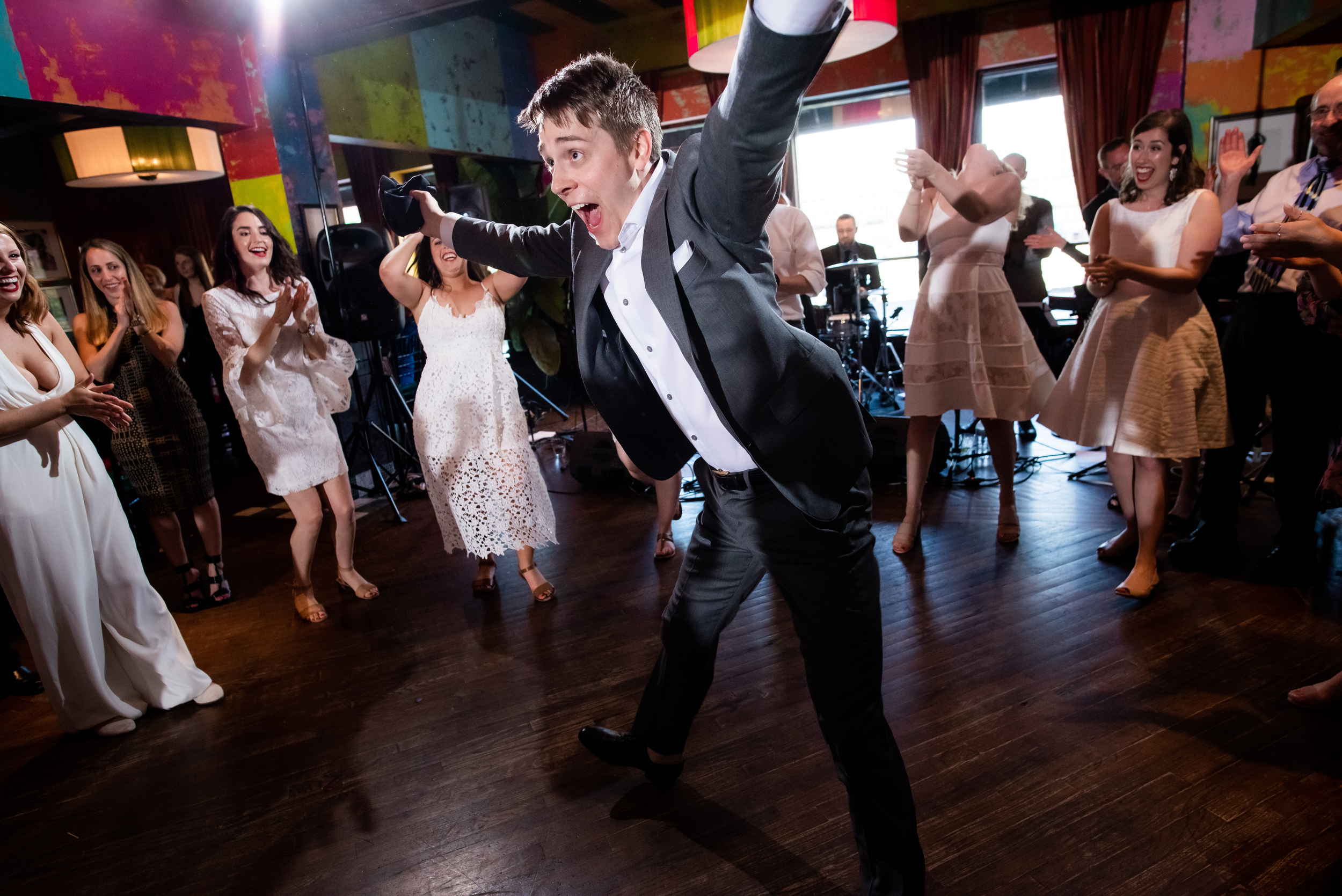Carnivale Chicago wedding captured by J Brown Photography