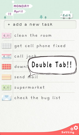 Do! list view.