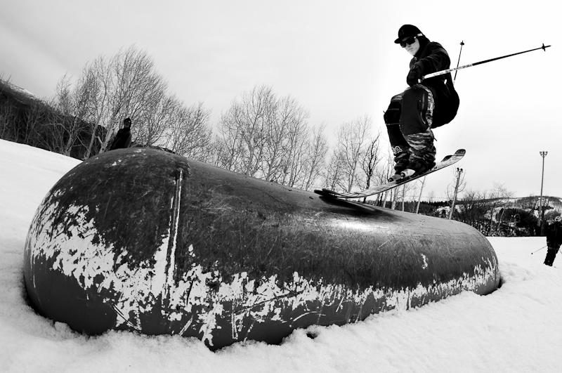 on3p-ski-company :     Luke Perin at PCMR