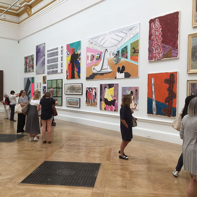 Summer exhibition at the Royal Academy did not disappoint. Swipe to see more photos. #rasummer #rasummerexhibition #artexhibition #london