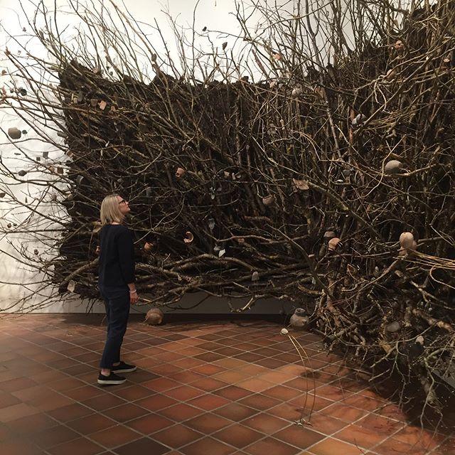 Louisiana Museum of Modern Art was a fabulous place to visit. 40min train ride north of Copenhagen. . . . #denmark #lousianamuseumofmodernart