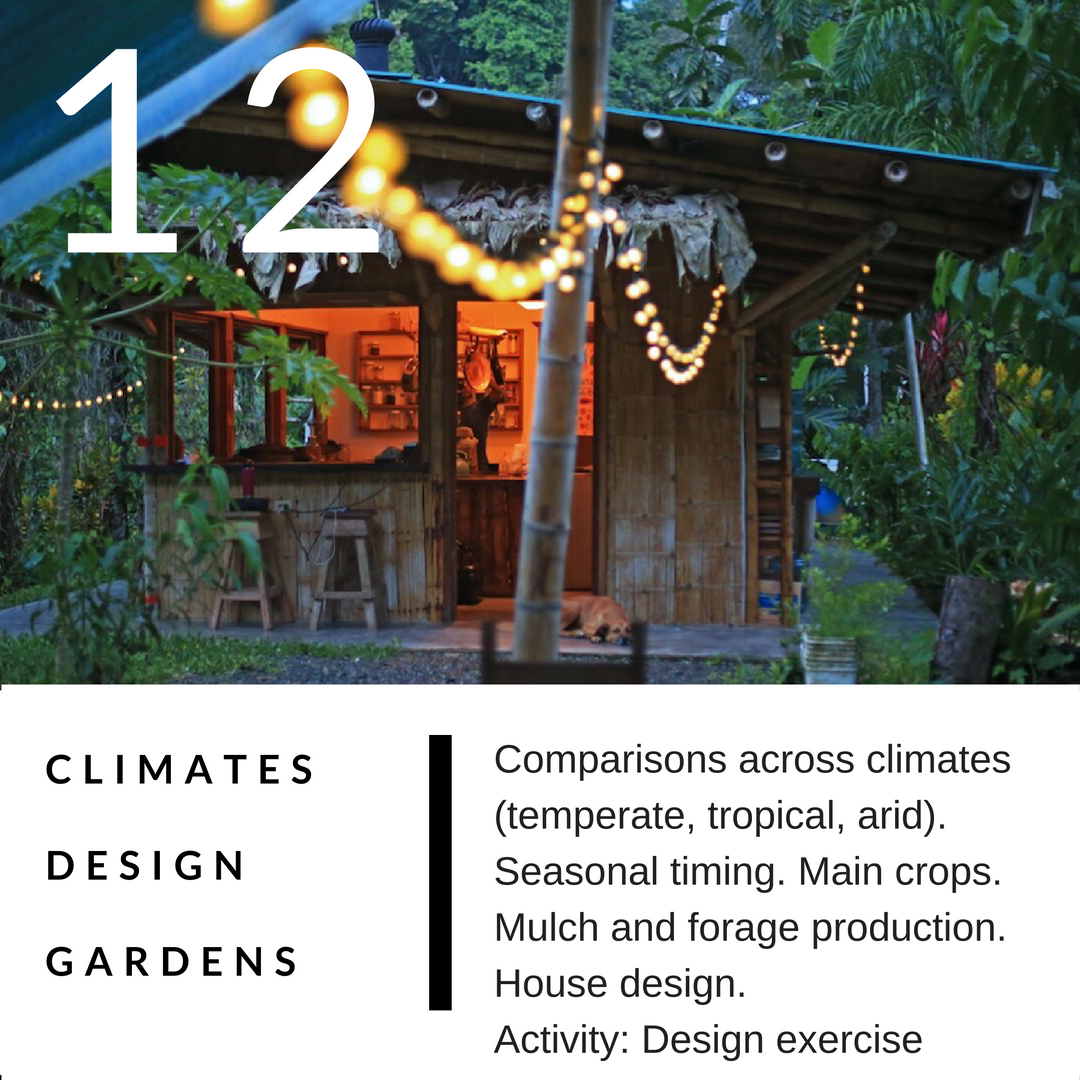 PERMACULTURE DESIGN COURSE IN DETAIL 12