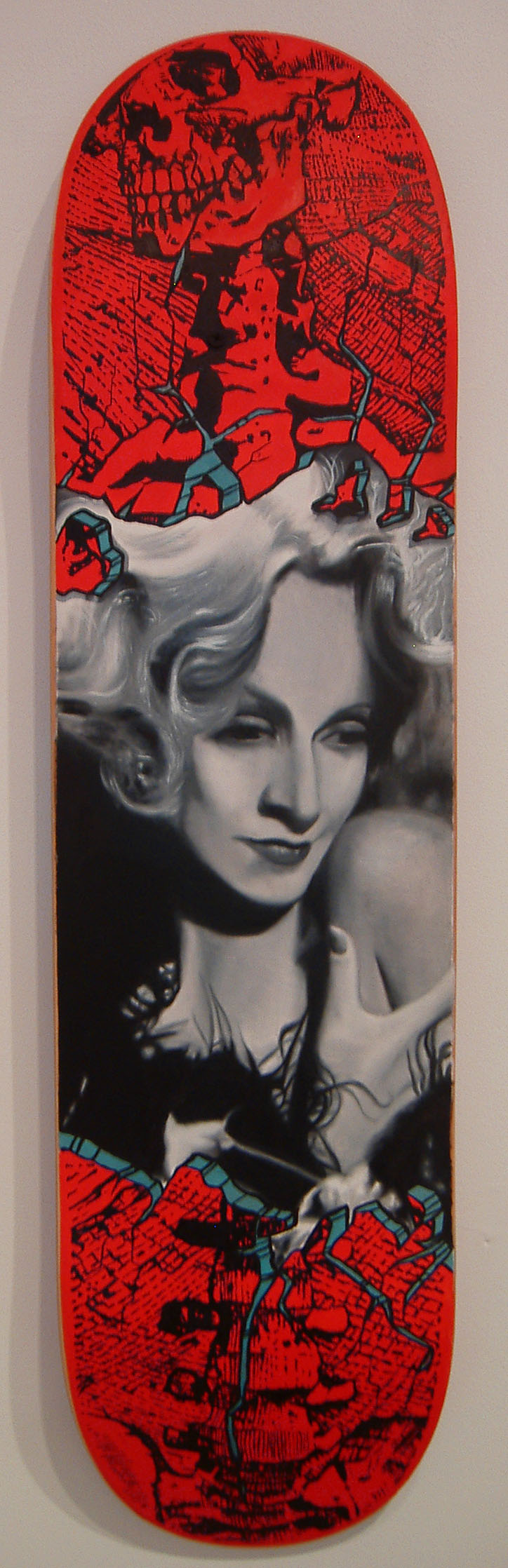 Bryant_This Too Shall Pass 2013_oil on skateboard_31x8.jpg