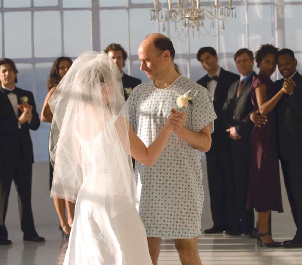 """Ad Council PSA """"Real Men Wear Gowns."""""""